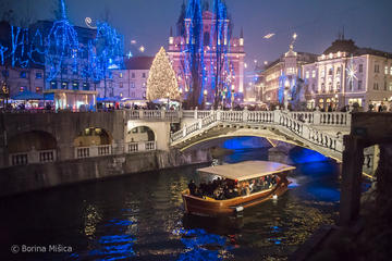 Ljubljana 2 Hour Magical Advent Tour including Cruise