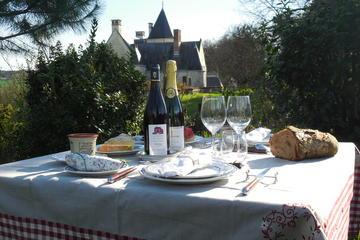 Excursion pique-nique dans les vignes de Chinon, France