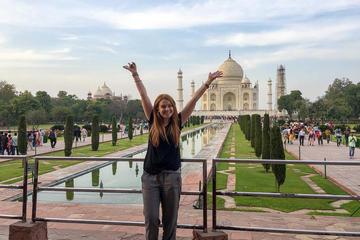 Taj Mahal Agra Tour By Train