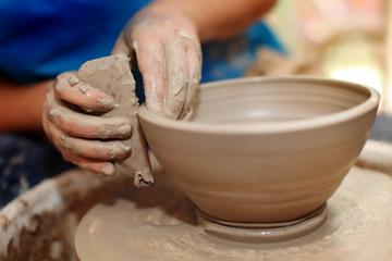Clay pottery making class in chennai for two hours