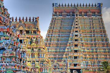 Visit: Rock Fort, Lourdes Church, Srirangam & Thiruvanaikovil in Tiruchirappalli