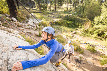 Skaha Bluffs Provincial Park Guided Rock Climbing Experience from Penticton