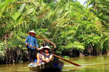 Excursión para grupos pequeños en el delta del Mekong incluyendo My...