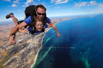 Tandem Skydive over Busselton and Margaret River