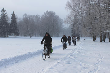 Tallinn Winter Bike Tour with Cafe...