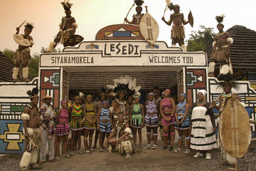 Private Lesedi Cultural Village Tour in Johannesburg