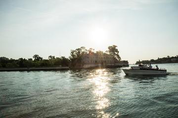 Fortificaciones históricas en la laguna de Venecia