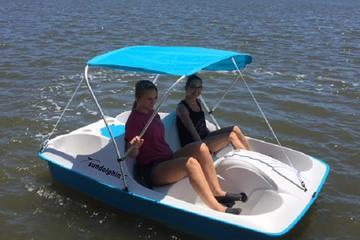Half-Hour Dolphin Pedal Boat Rental in Daytona Beach