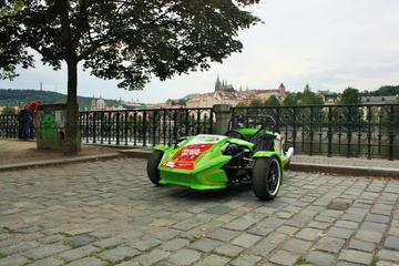 Self-Guided Prague Highlights Tour by Trike Including Audio Commentary