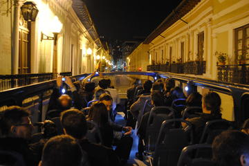 Sightseeing Night Tour of Quito