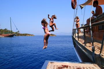 4 Days 3 Nights Blue Cruise From Fethiye to Olympos