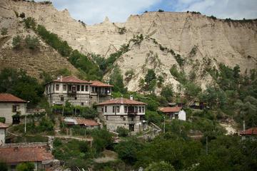 Melnik e il monastero di Rozhen