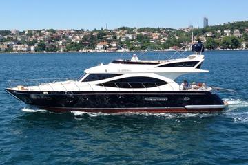 Private Bootsfahrt auf dem Bosporus...