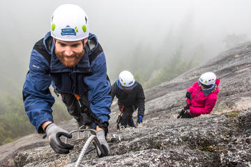 Winter Squamish Via Ferrata Tour