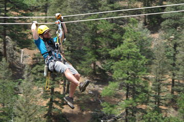 Day Trip Broadmoor Soaring Adventure Zipline Tour near Colorado Springs, Colorado