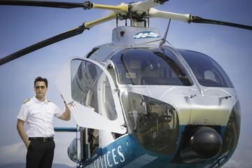 Vol en hélicoptère au-dessus de Hong Kong