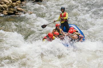 White-water Rafting with Ziplining...