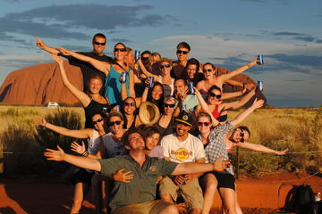 Overnight Uluru (Ayers Rock) Camping Tour Including Uluru Sunrise and...
