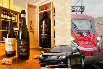 Private Amarone Wine Tasting Tour from Bologna by Train