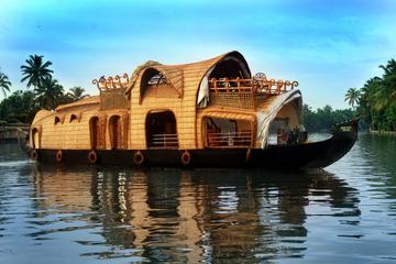Private Overnight Houseboat Tour in Allepey from Cochin