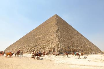 Hurghada Cairo Private Day Trip with Giza Pyramids, Sphinx, and Sakkara