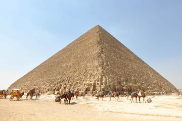 Private Day Tour: Giza Pyramids, Sphinx and Sakkara from Hurghada