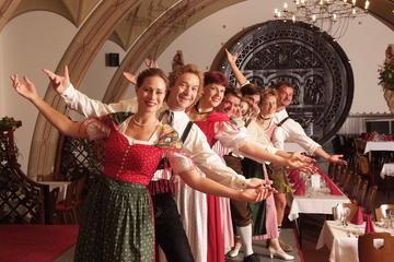 Jantar com show austríaco em Viena