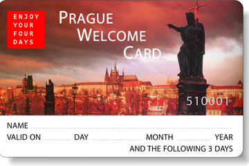 Carte de bienvenue à Prague