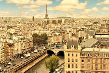 Paris Day-Tour with Lunch: Ile de la Cite, Montparnasse Tower, and Hop-on-Hop-off Bus