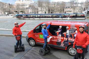 Viagem de Segway em Paris e excursão de barco no Sena