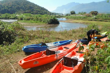 Full-Day River Kayaking Trip in Northern Thailand Jungle from Chiang...