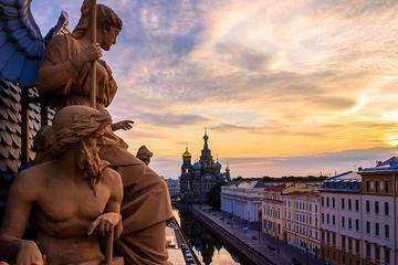 Excursion en bord de mer au départ de Saint-Pétersbourg: croisière...