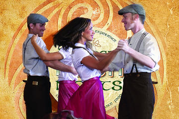 Dublins traditionelle Belvedere Irish Night Show inkl. 3-retters...