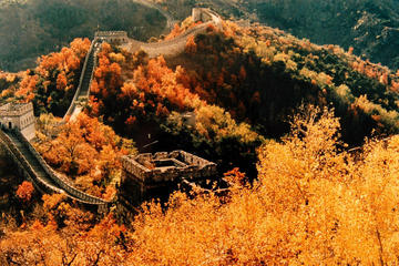 All Inclusive Private Day Trip to Mutianyu Great Wall and Hongluo Red Snail Temple