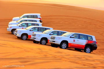 Dubai-ørkensafari om eftermiddagen og...