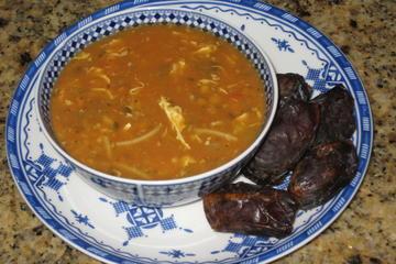 Recorrido gastronómico nocturno en Marrakech