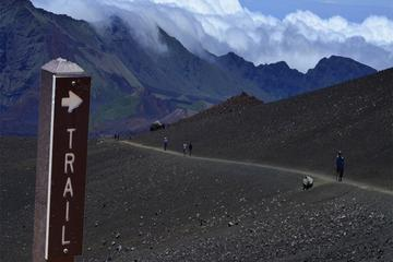 Trekking at Haleakala: Elevation...