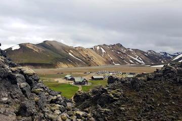 De hooglanden van IJsland waaronder Landmannalaugar en Hekla ...