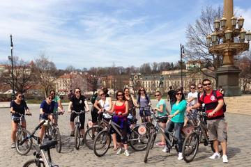 Excursão de bicicleta pela cidade...