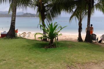 Excursion à l'Isla Grande au départ...