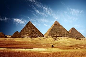 1-Day Tour from Cairo to Egyptian Museum and Giza Pyramids with Camel Ride