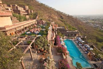 Private Day Trip to Neemrana Fort Palace with Zip-lining Activity and Lunch