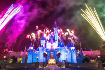 Daily Group Tour: Disneyland Admission With Hotel 2-Way Transfer from...