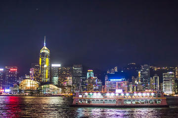Victoria Harbour Dinner Cruise plus 2-way Ferry Transfers from Macau