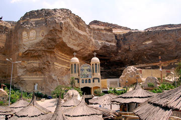 Private day tour to Giza pyramids and Cave Church with camel ride