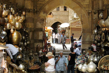 Private day tour to Sakkara Memphis and Khan el Khalili Bazaar