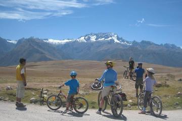 Maras Salt Mines and Moray Biking Tour from Cusco