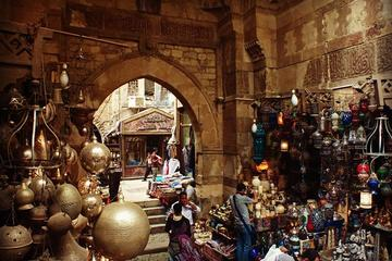 Private Half-Day Tour in Cairo to Egyptian Museum and Khan El Khalili Bazaar