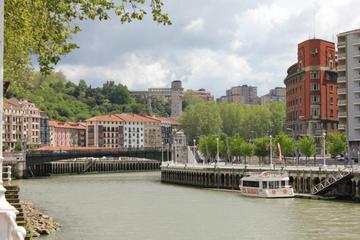 Bilbao in boat
