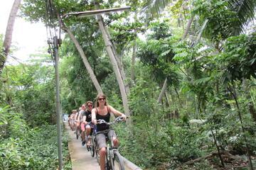 5時間のバンコクの穴場サイクリング ツアー